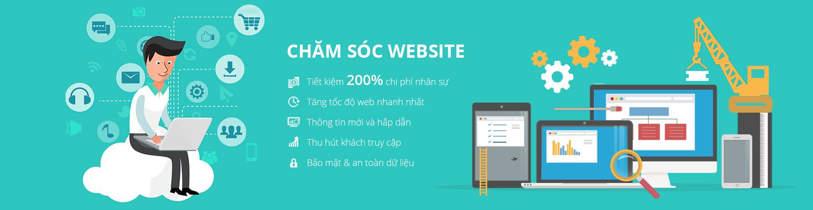 Chăm Sóc Website