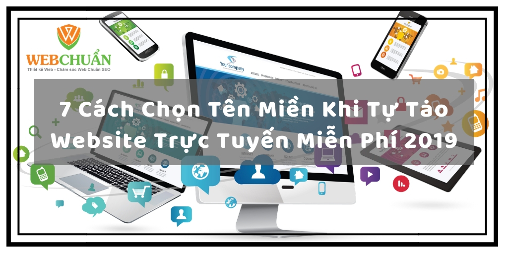 7 Cách Chọn Tên Miền Khi Tự Tạo Website Trực Tuyến Miễn Phí 2019